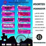 Ganador de los abonos para los conciertos de pago de la Feria de Albacete